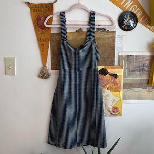 Free People Gingham Mini Dress